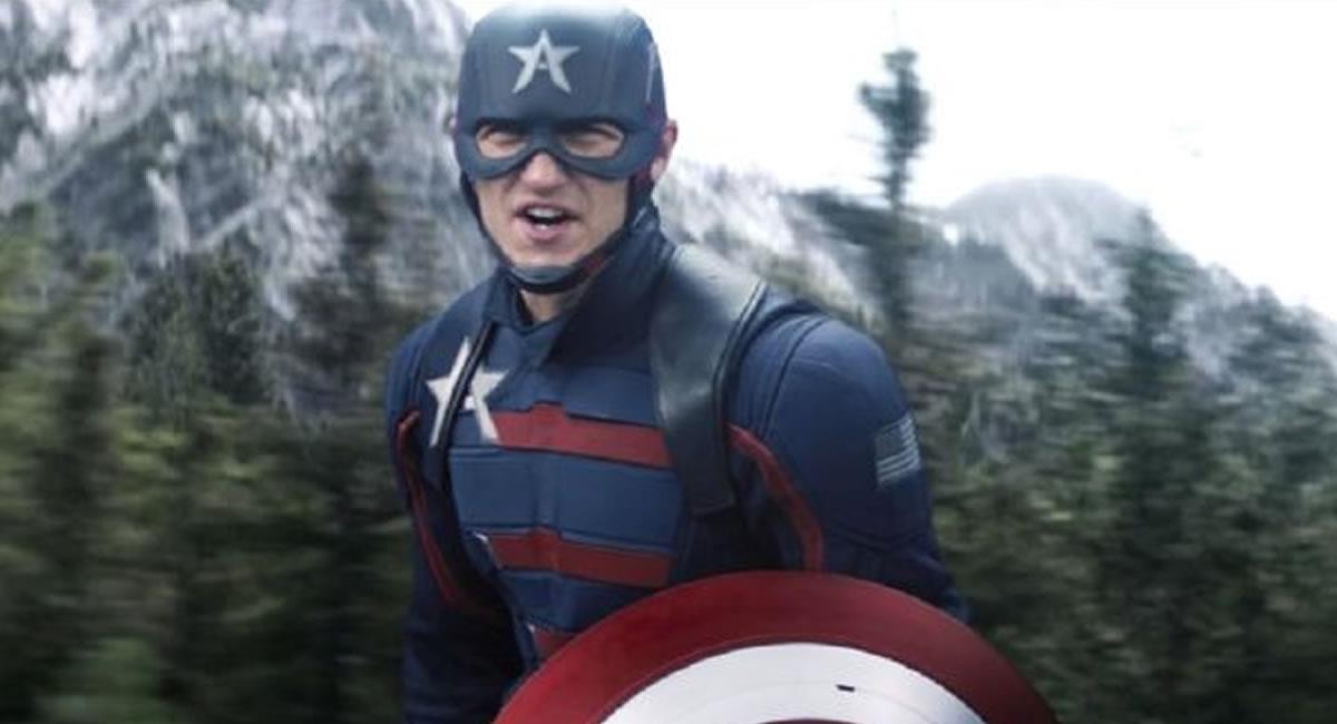 Wyatt Russell da vida al nuevo Capitán América (John Walker) en 'The Falcon and The Winter Soldier'. Foto: Twitter @FalconAndWinter