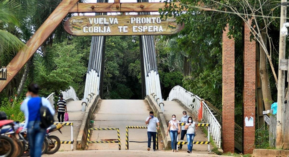 Frontera boliviana con Brasil. Foto: ABI