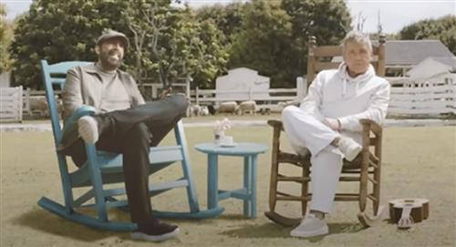 Juan Luis Guerra y Ricardo Montaner colaboración Dios así lo quiso