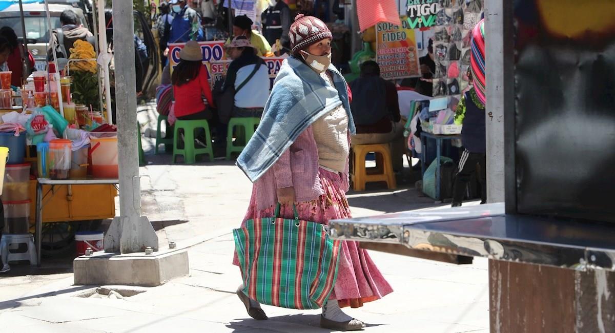 Bolivia reportó más de 1.000 nuevos casos de COVID-19. Foto: EFE