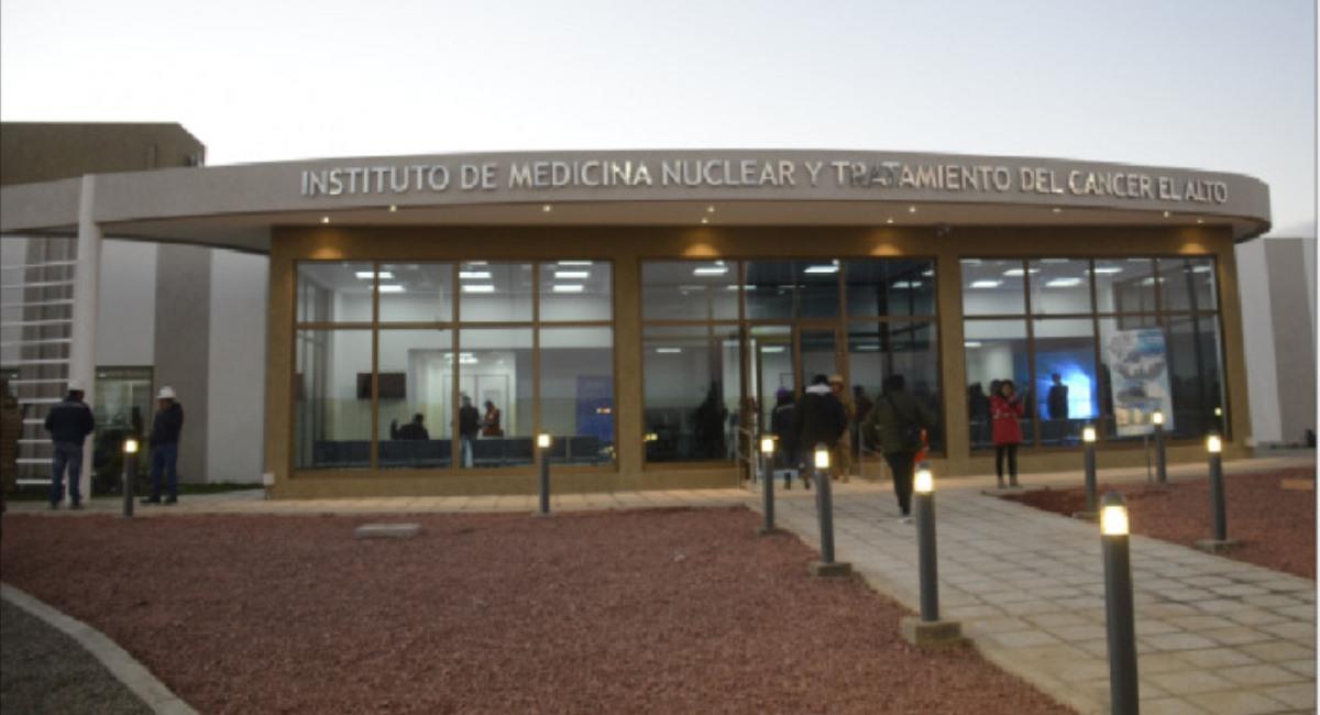 Instituto de Medicina Nuclear y Tratamiento del Cáncer de El Alto. Foto: ABI