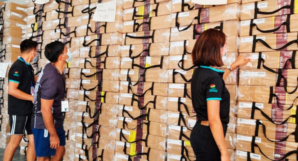 Material electoral para la segunda vuelta de las elecciones subnacionales. Foto: ABI