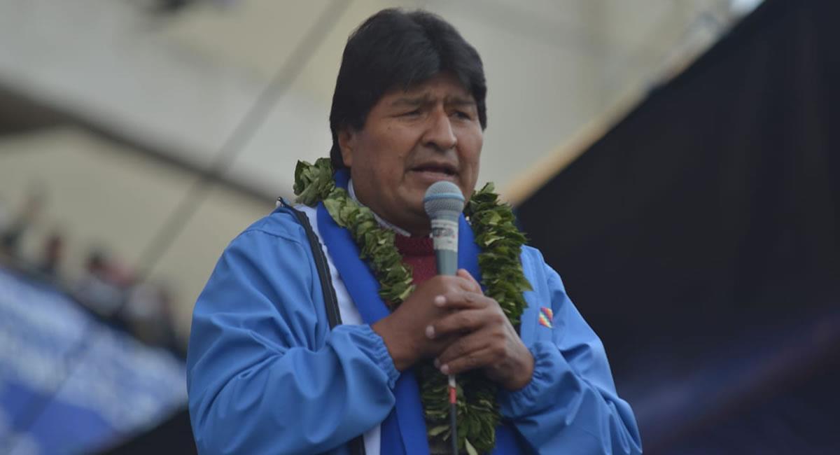 Expresidente de Bolivia, Evo Morales. Foto: ABI