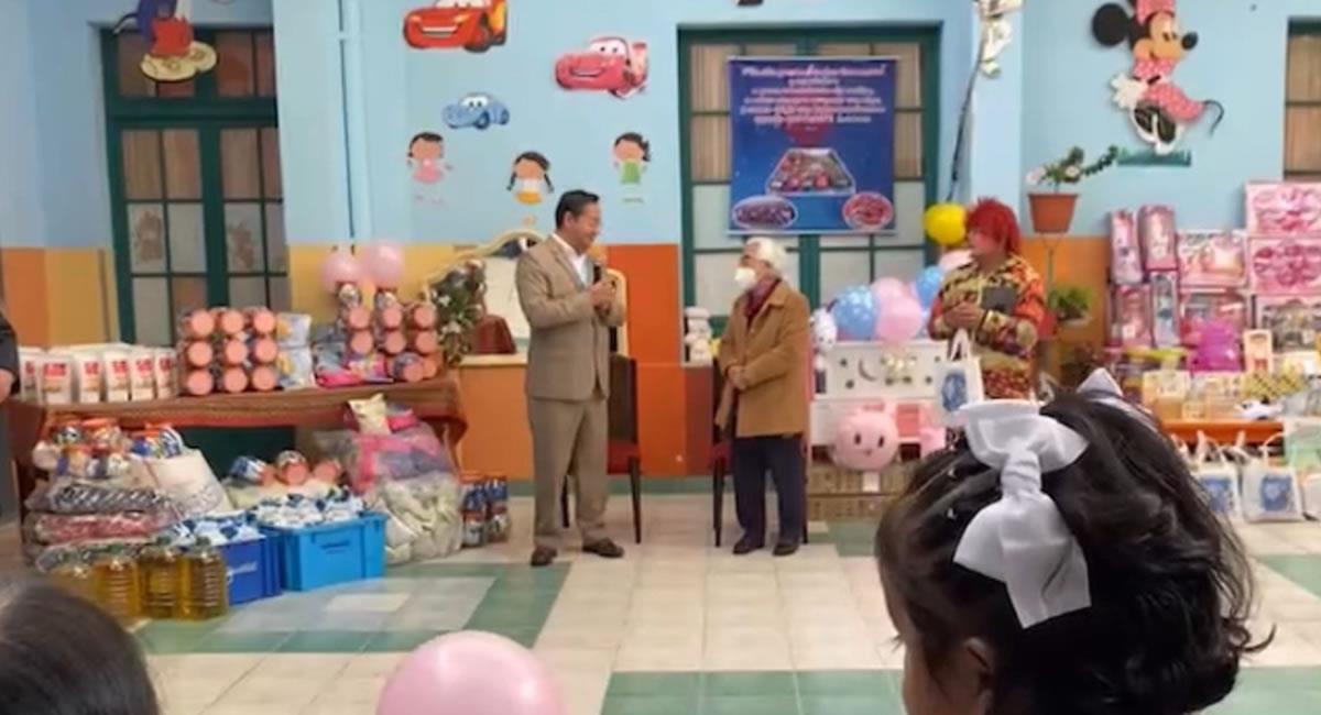 Homenaje al Día de la Niña y Niño Boliviano, que se celebra este 12 de abril. Foto: ABI