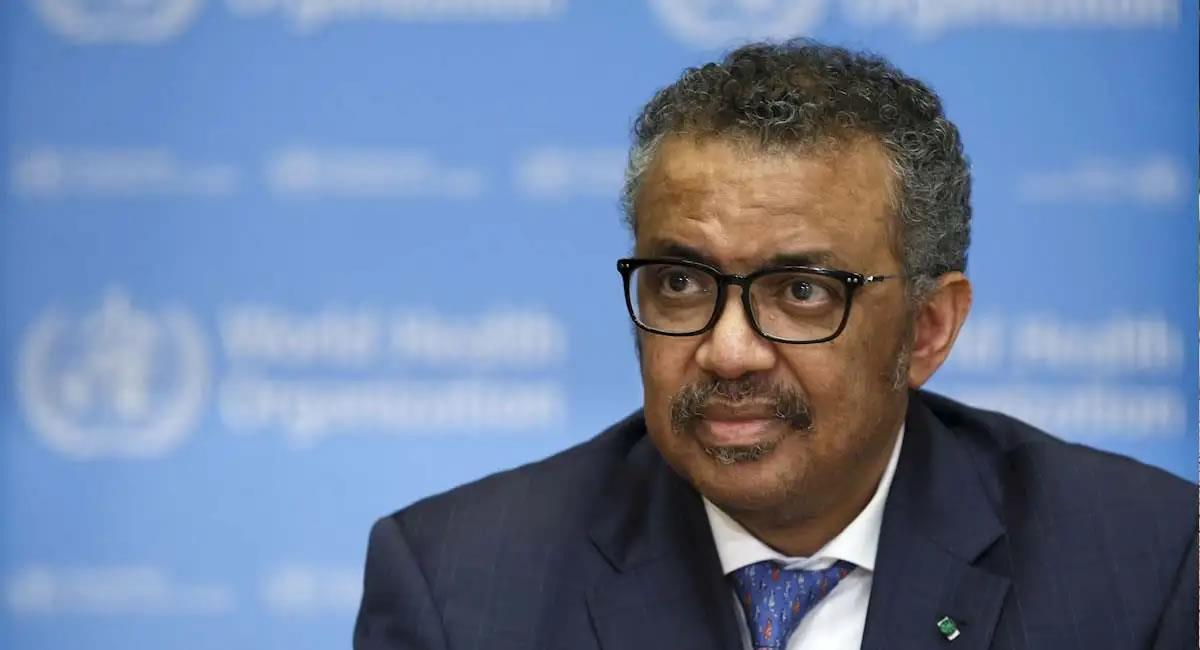 Director general de la Organización Mundial de la Salud (OMS), Tedros Adhanom Ghebreyesus. Foto: EFE
