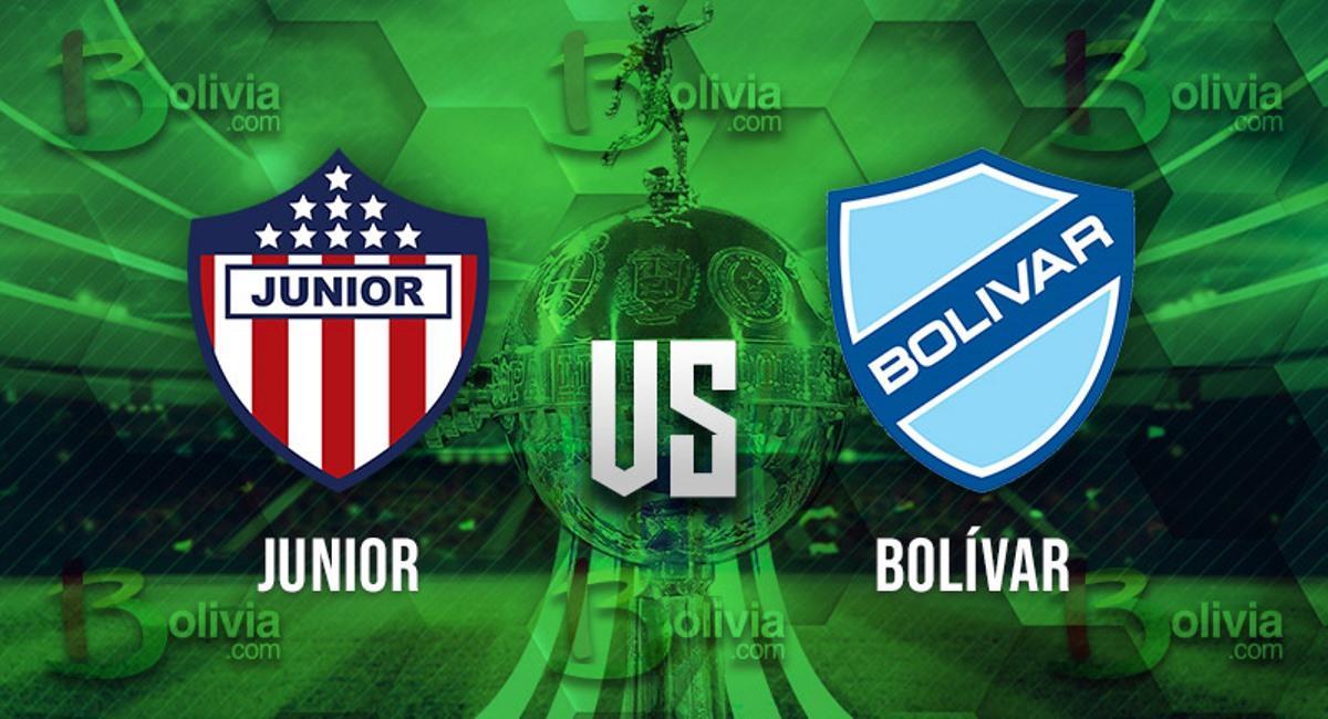 Junior vs Bolívar. Foto: Interlatin