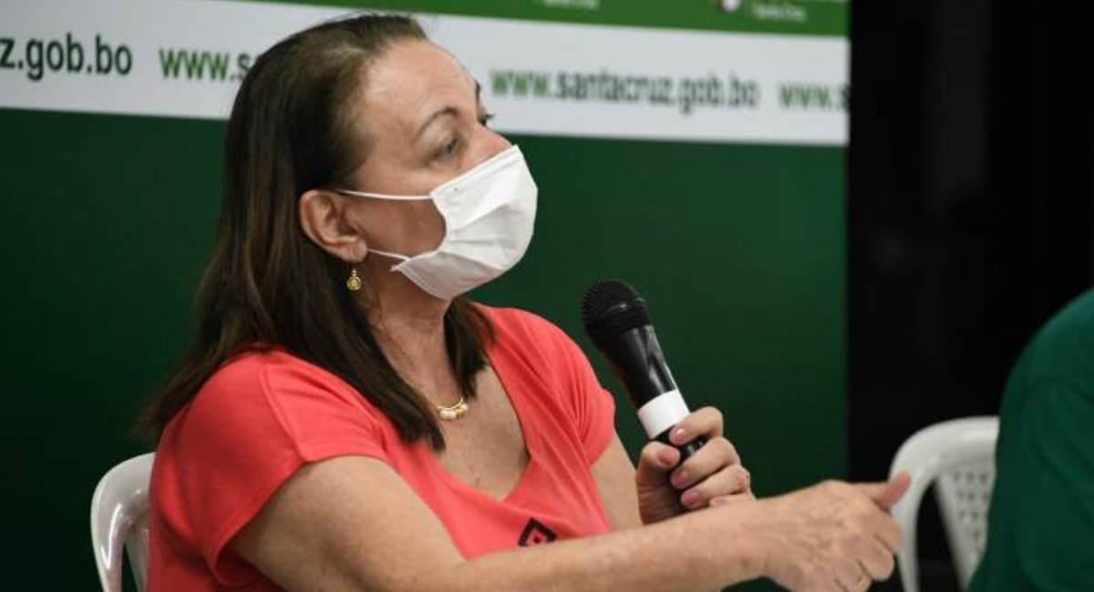 La exministra de Salud, Eidy Roca. Foto: ABI