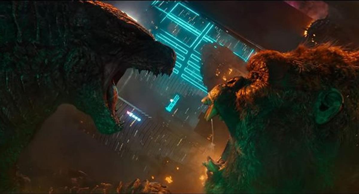 'Godzilla vs. Kong' se mantuvo por tercer fin de semana seguido al frente de los cines de Estados Unidos y Canadá. Foto: Youtube / Captura Canal SensaCine TRAILERS