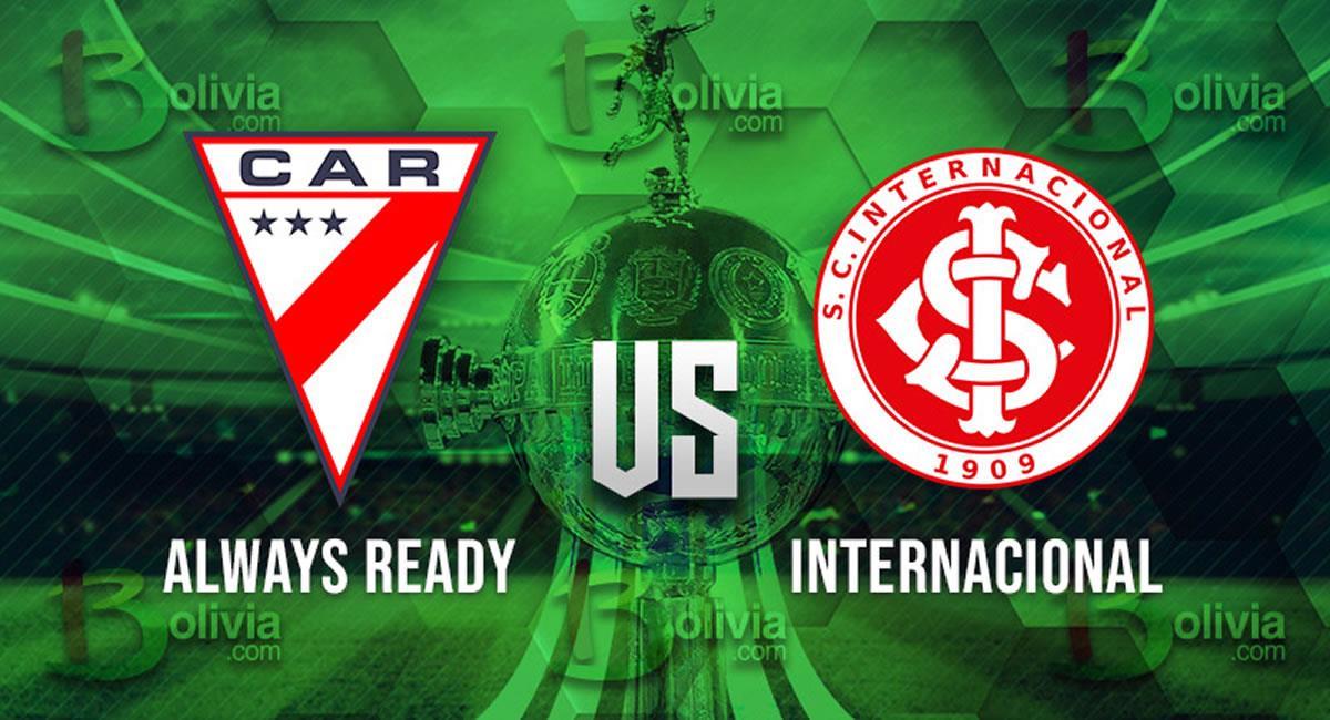 Partido de Always Ready vs Internacional. Foto: Interlatin