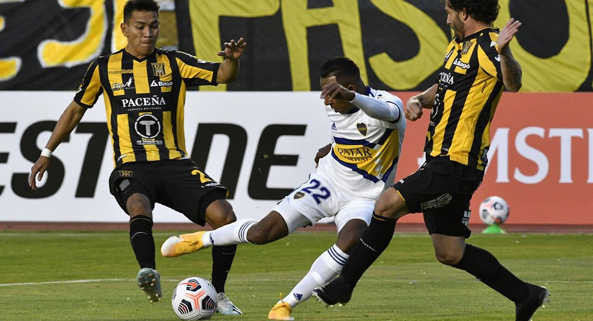 Boca Juniors logra el triunfo ante The Strongest en La Paz