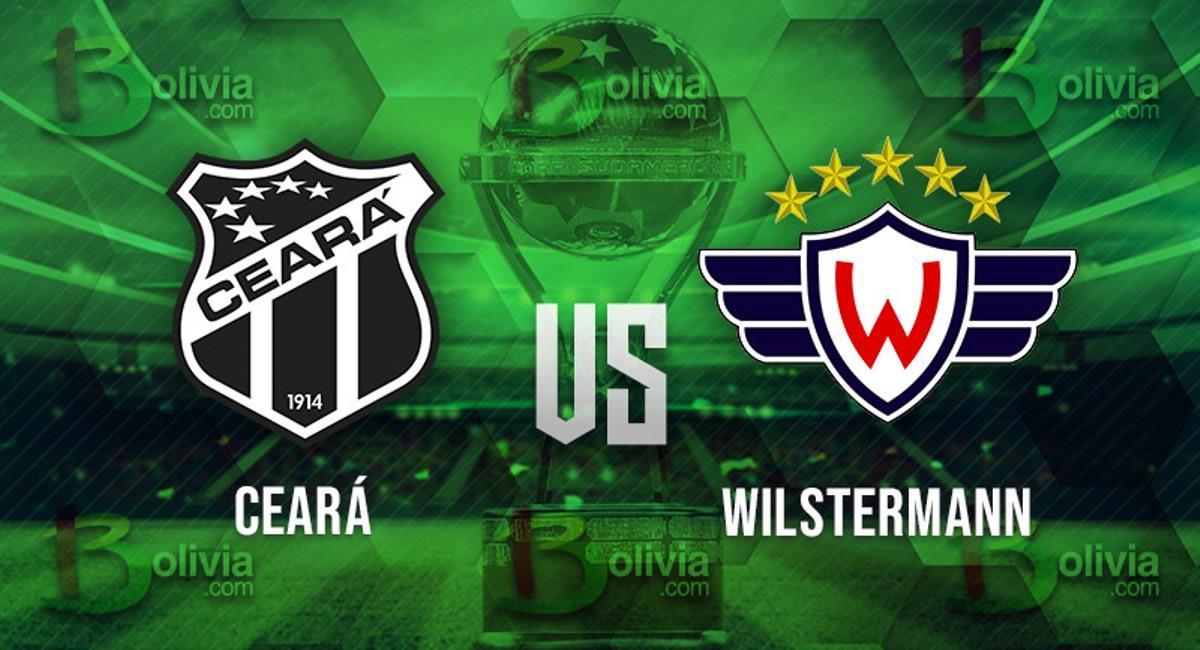 Ceará vs Wilstermann. Foto: Interlatin