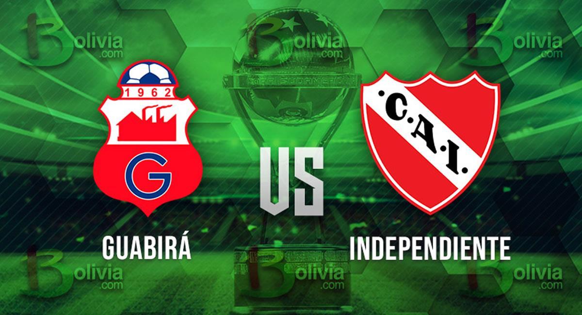 Partido Guabirá vs Independiente. Foto: Interlatin