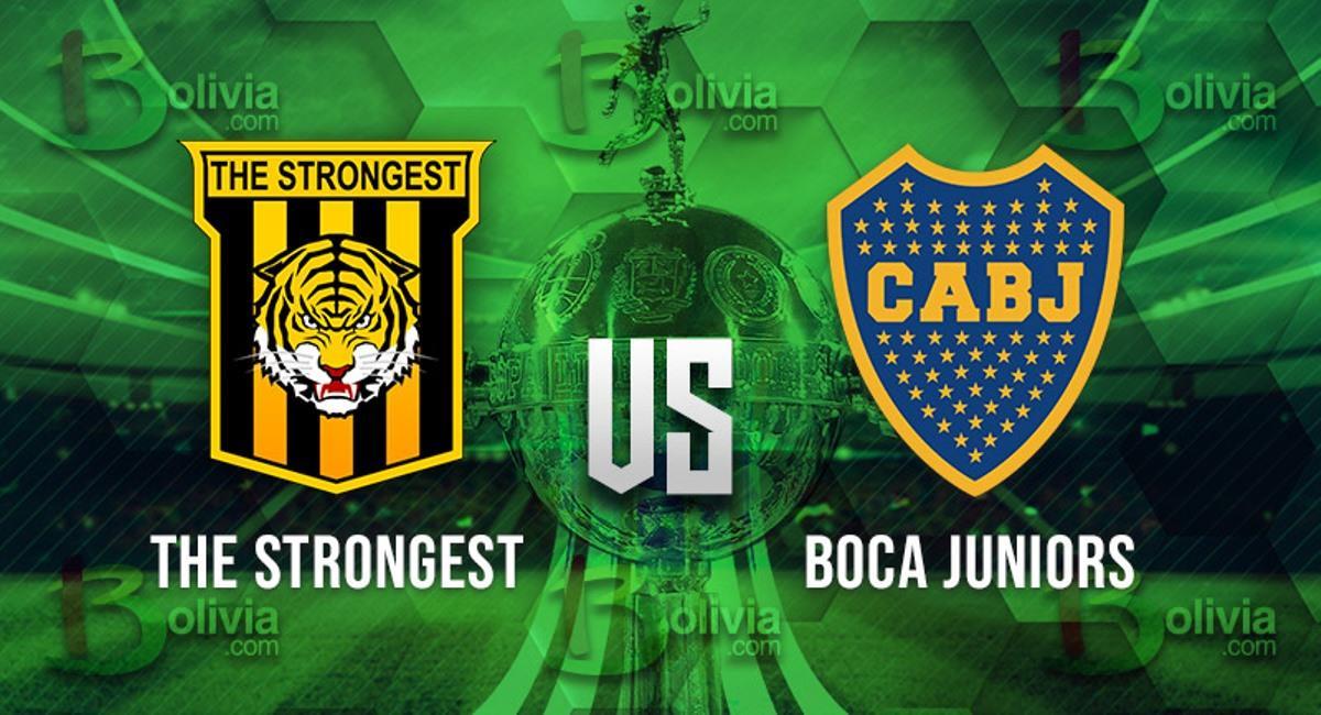 The Strongest vs Boca Juniors. Foto: Interlatin