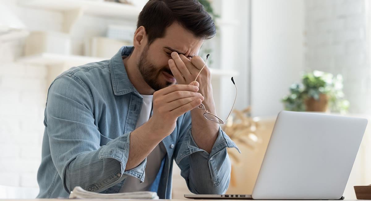 Estudio revela cómo combatir el estrés y la fatiga en el teletrabajo. Foto: Shutterstock