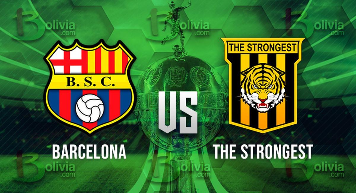 Barcelona vs The Strongest. Foto: Interlatin