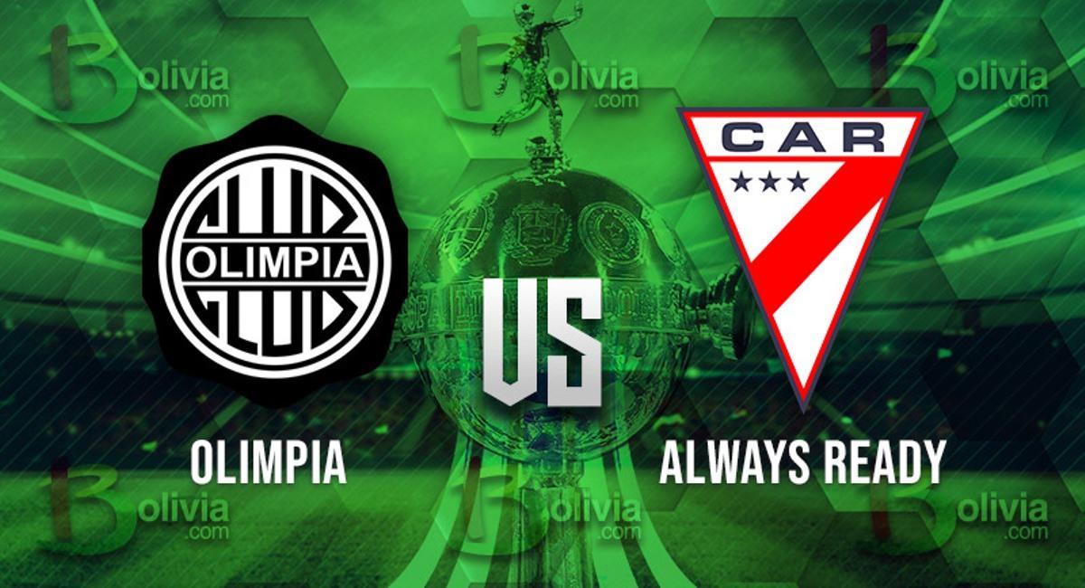 Olimpia vs Always Ready. Foto: Interlatin