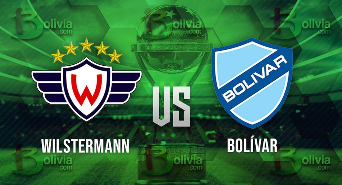 Partido Wilstermann vs Bolívar. Foto: Interlatin