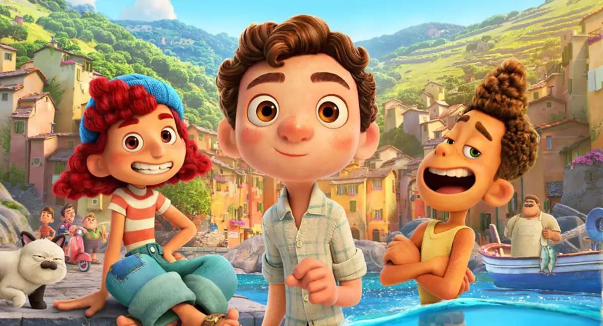 'Luca' se estrenará en junio del 2021. Foto: Twitter @Pixar