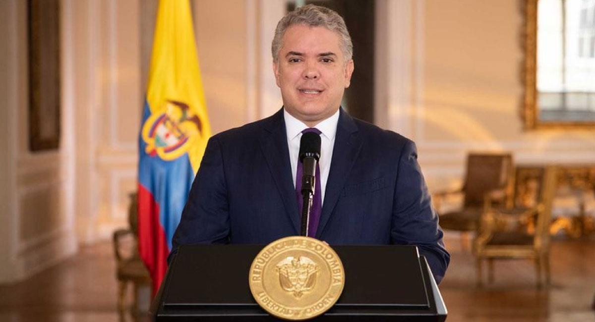 Presidente Duque solicita retirar la Reforma Tributaria. Foto: ABI