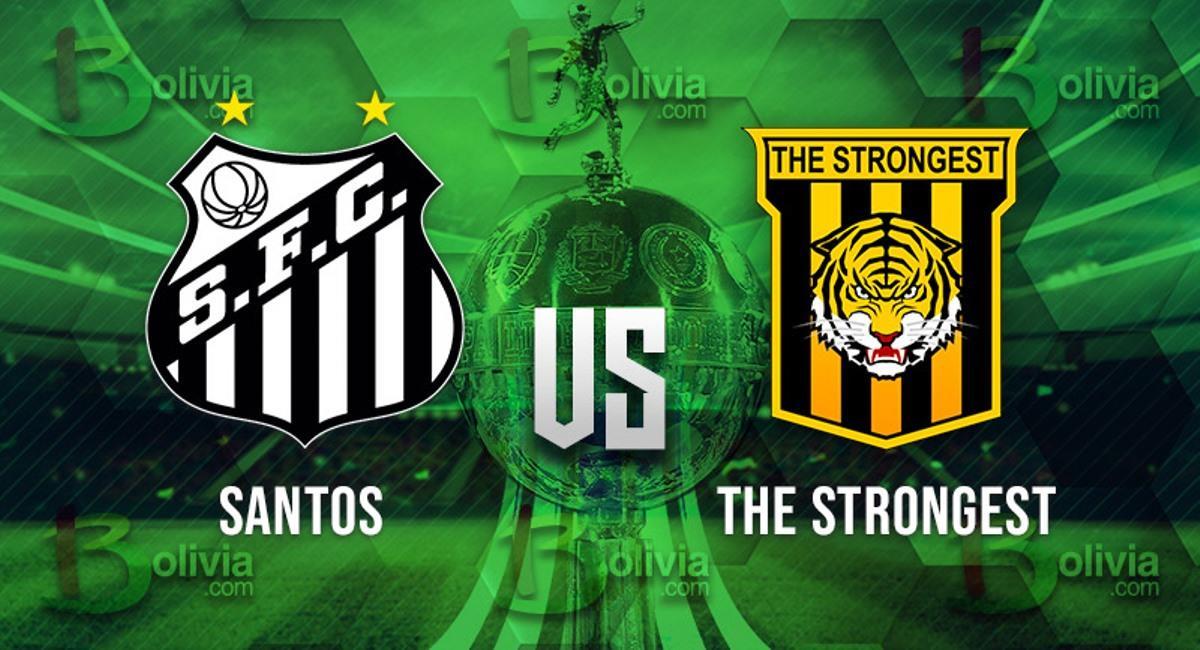 Santos vs The Strongest. Foto: Interlatin