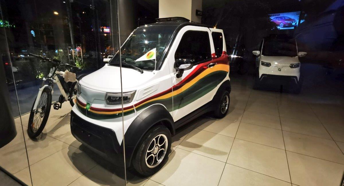 Auto de Quantum Motors. Foto: ABI