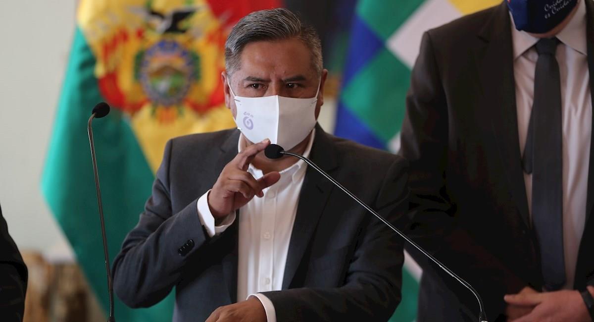 El canciller de Bolivia, Rogelio Mayta. Foto: EFE