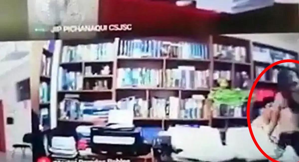 Imagen de la audiencia virtual. Foto: Youtube / Captura canal IURIS