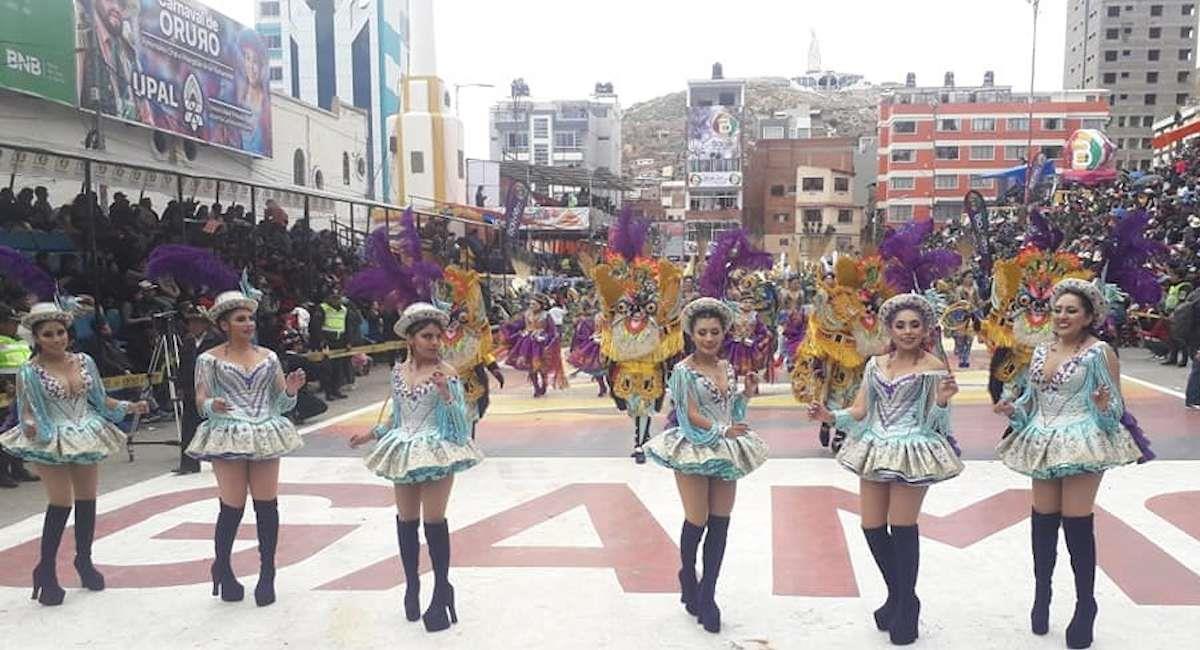 Danza de la morenada. Foto: ABI