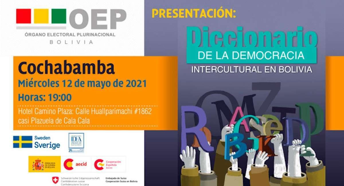 """El TSE presentará el """"Diccionario de la Democracia Intercultura"""". Foto: ABI"""
