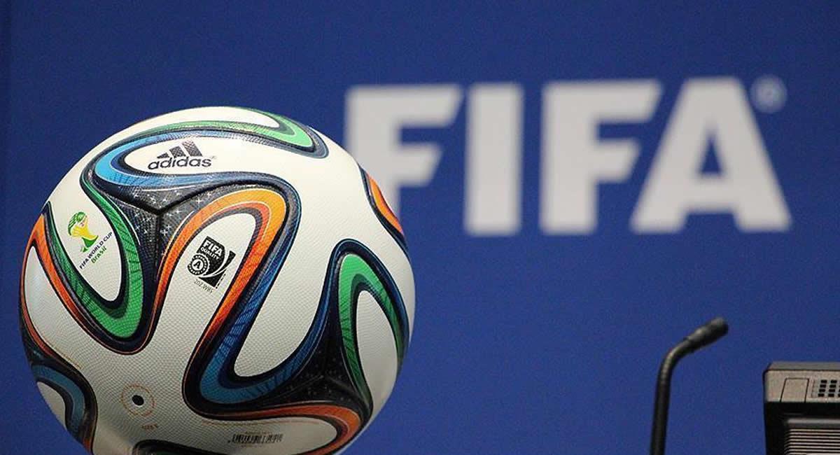 Apoyo económico de la FIFA. Foto: Twitter