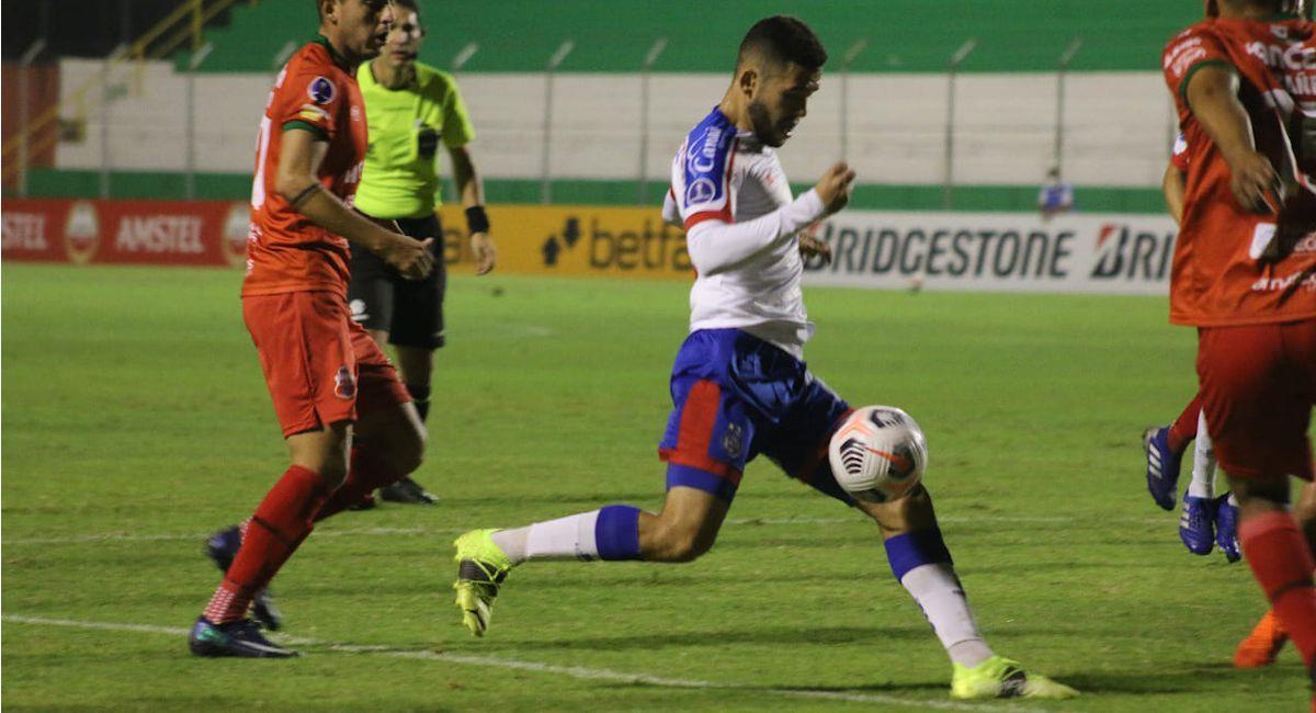 Bahía ganó a Guabirá por 0 - 1. Foto: Facebook @ecbahia
