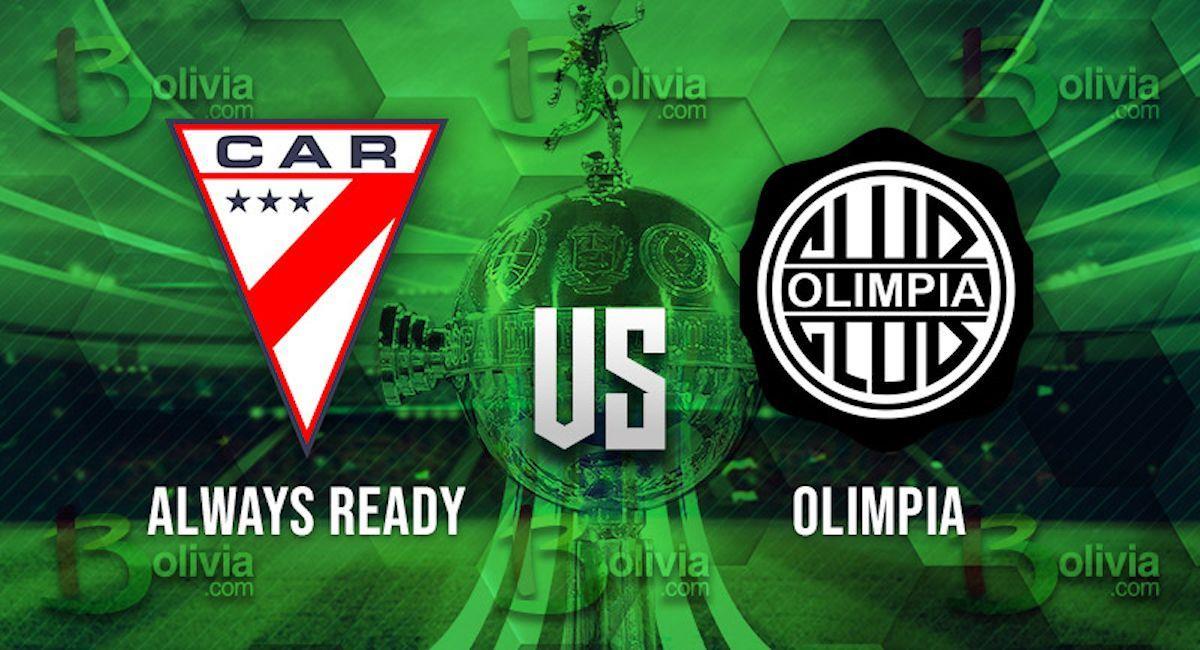 Always Ready vs Olimpia. Foto: Interlatin