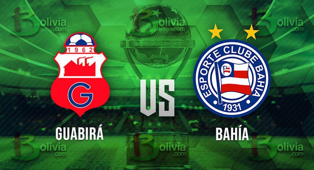 Guabirá vs Bahía. Foto: Interlatin