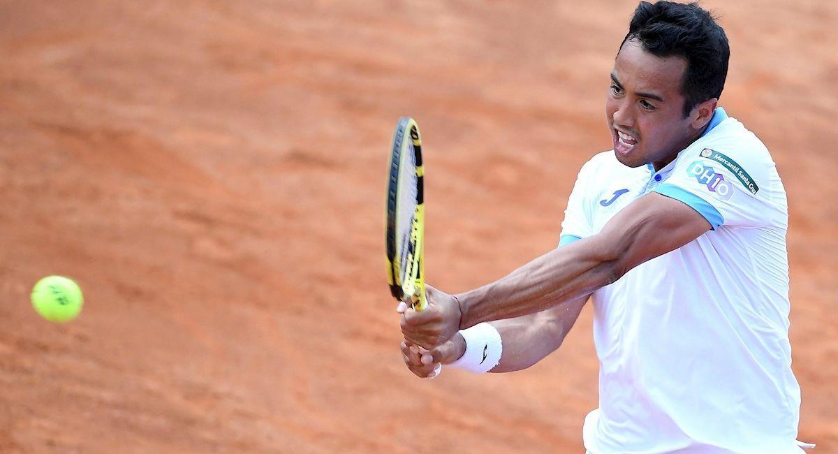 El tenista boliviano Hugo Dellien. Foto: EFE