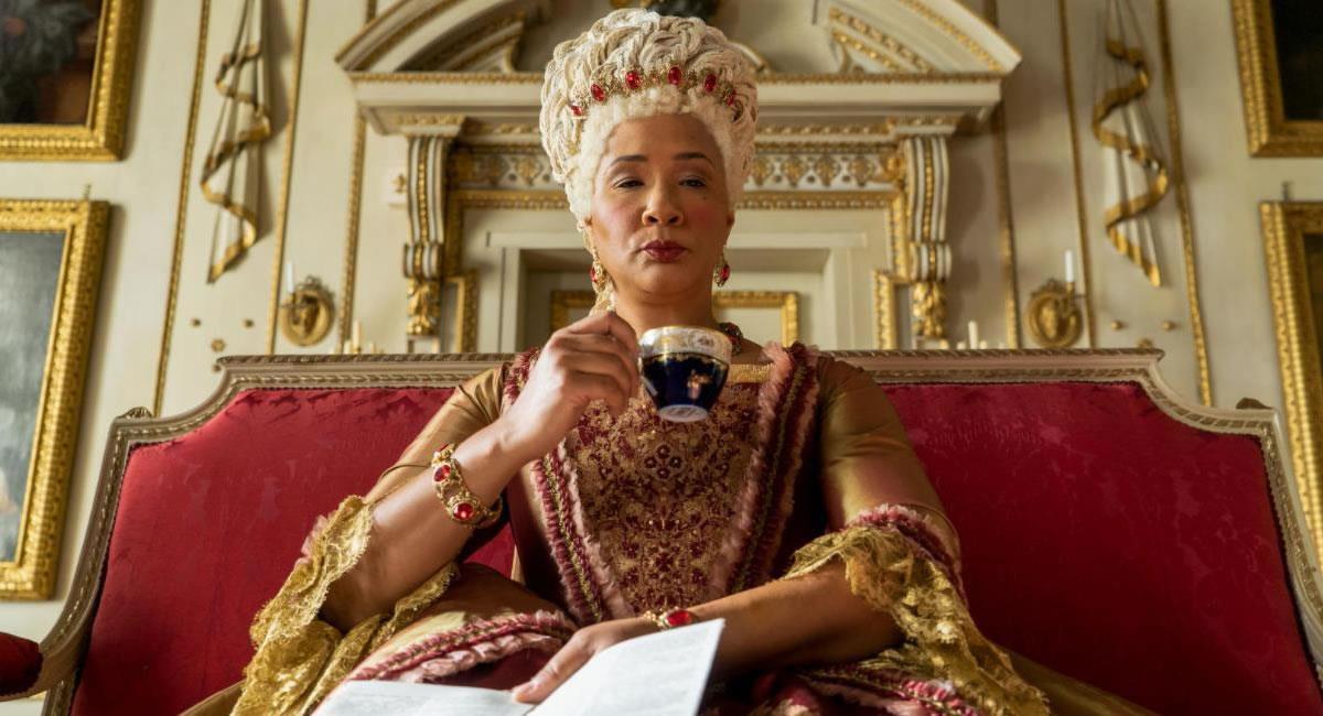 Personaje de la reina Charlotte. Foto: Filmaffinity