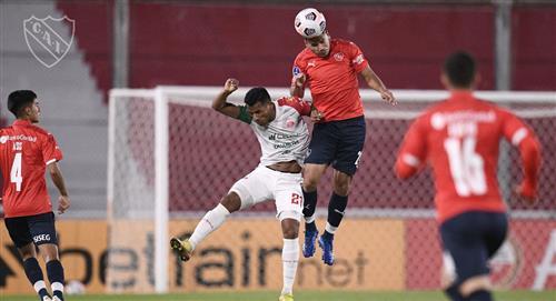 Guabirá cae 1 - 0 con Independiente en su último partido de Sudamericana