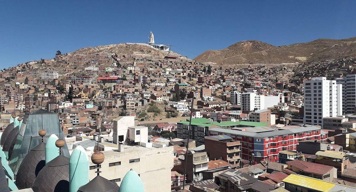 La ciudad de Oruro. Foto: ABI
