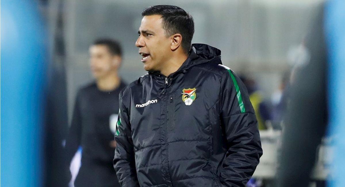 El director técnico de la selección boliviana, César Farías. Foto: EFE
