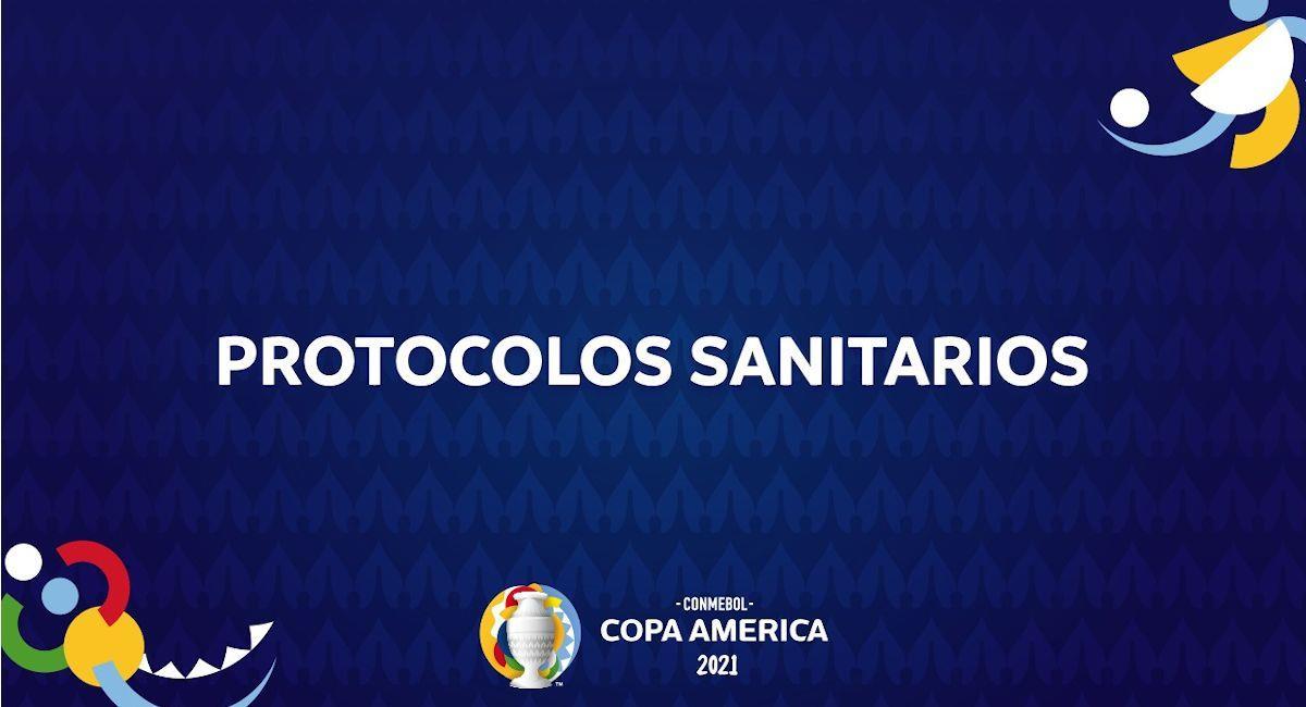 La Conmebol definió los protocolos sanitarios para la Copa América 2021. Foto: ABI