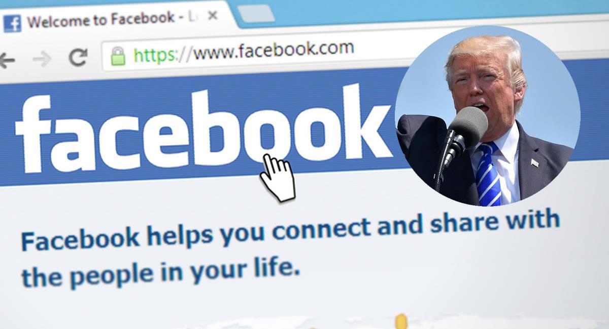 Después de ese periodo, Facebook tomará una decisión sobre su posible reingreso. Foto: Pixabay