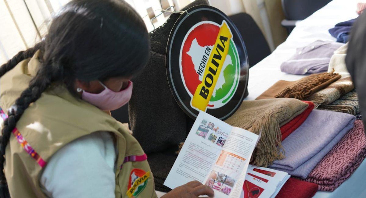 """Productores invitan a la """"Festillama"""" en el El Ato. Foto: ABI"""