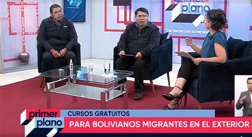 Convocan a bolivianos en el extranjero a capacitarse de forma gratuita