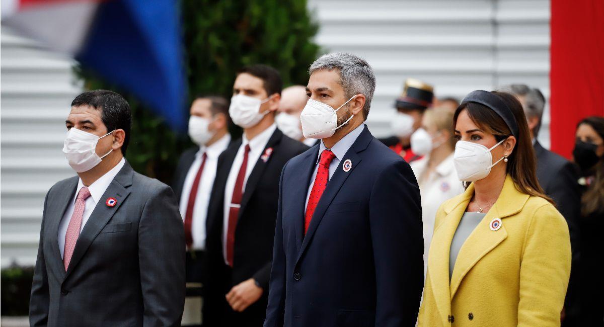 El presidente de Paraguay Mario Abdo Benítez. Foto: EFE