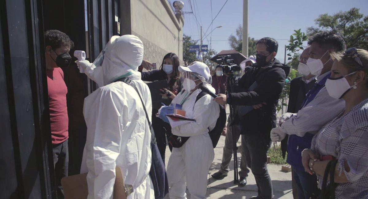 Brigadas médicas en Cochabamba. Foto: ABI