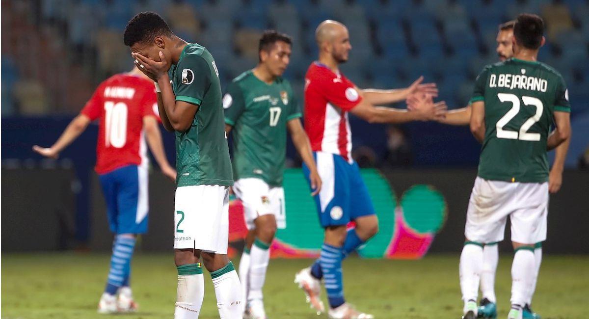 Imágenes del partido Paraguay vs Bolivia. Foto: EFE