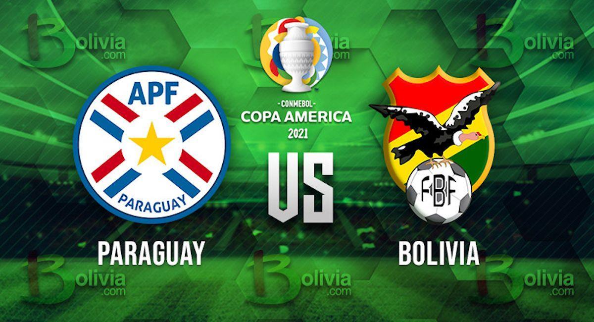 Paraguay vs Bolivia. Foto: Interlatin