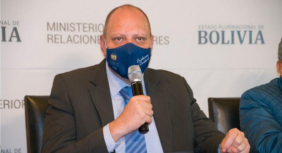El viceministro de Comercio Exterior, Benjamín Blanco. Foto: ABI