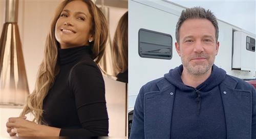 Jennifer López y Ben Affleck se besan Los Ángeles