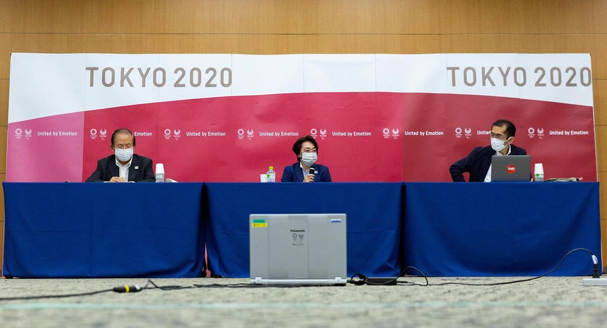 Comité organizador de los Juegos Olímpicos de Tokio 2020. Foto: EFE