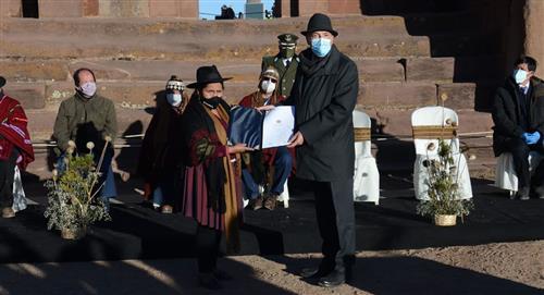 Bolivia entrega la Secretaría Pro Témpore del Qhapaq Ñan a Chile